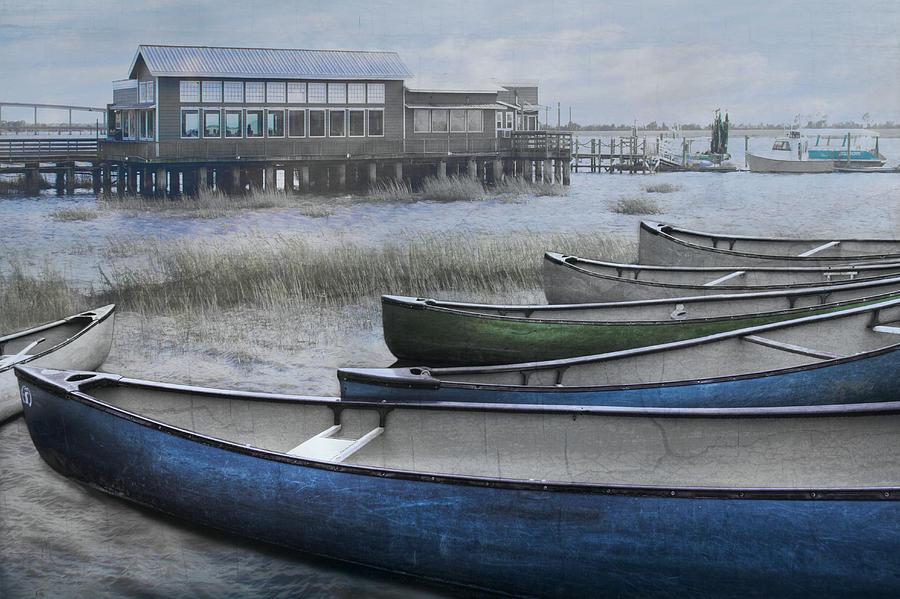 The Green Canoe Photograph