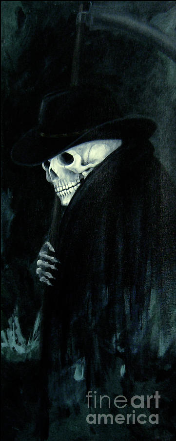 The Grim Reaper Painting