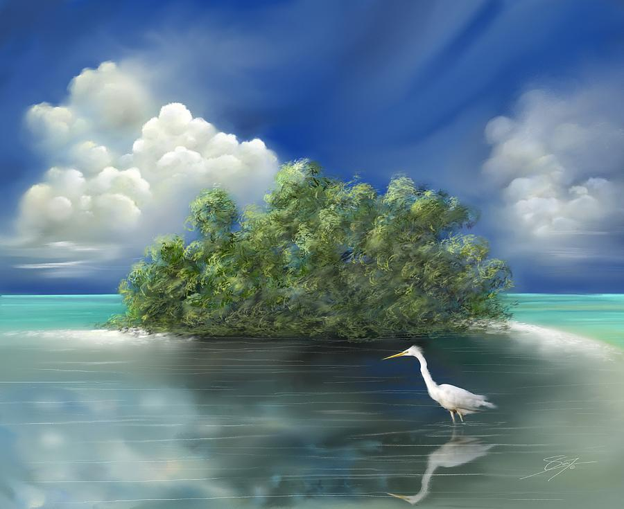 The Gulf of Mexico Painting  - The Gulf of Mexico Fine Art Print