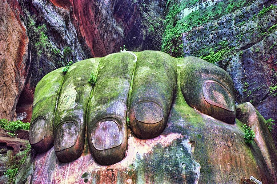 The Hand Of Budha by David Theroff