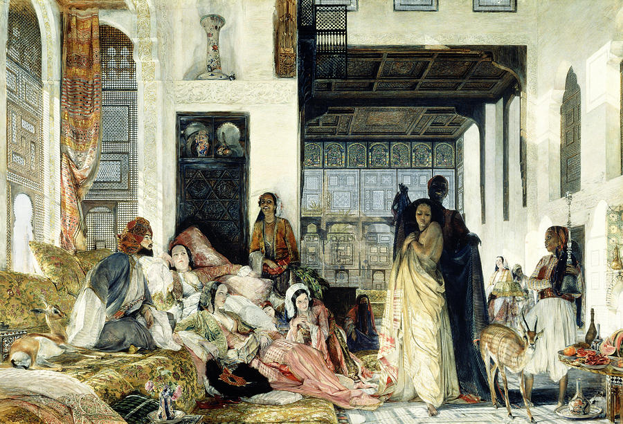 The Harem Painting