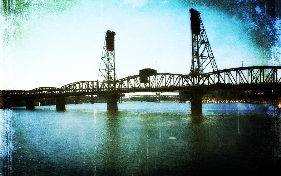 The Hawthorne Bridge Photograph  - The Hawthorne Bridge Fine Art Print