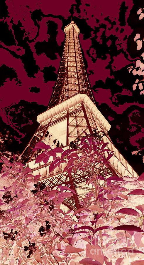 The Heart Of Paris - Digital Painting Digital Art