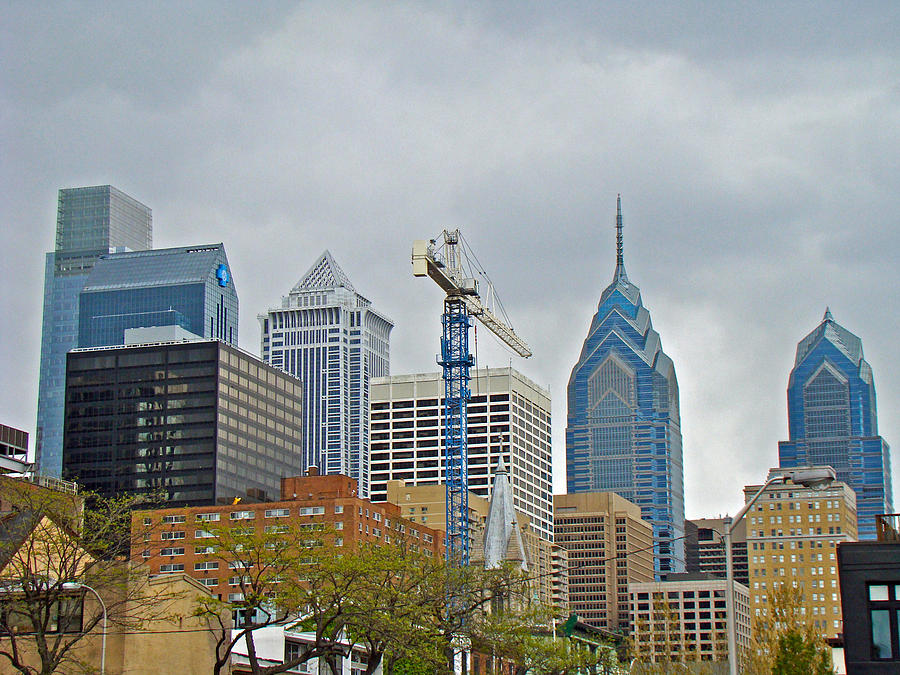The Heart Of The City - Philadelphia Pennsylvania Photograph