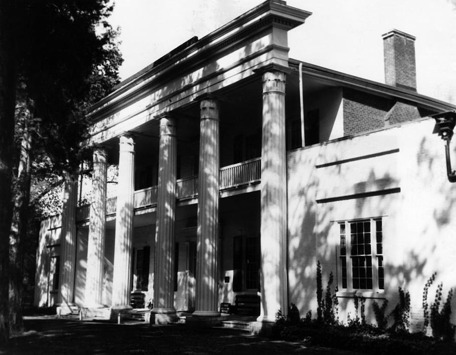 The Hermitage, Home Of President Andrew Photograph