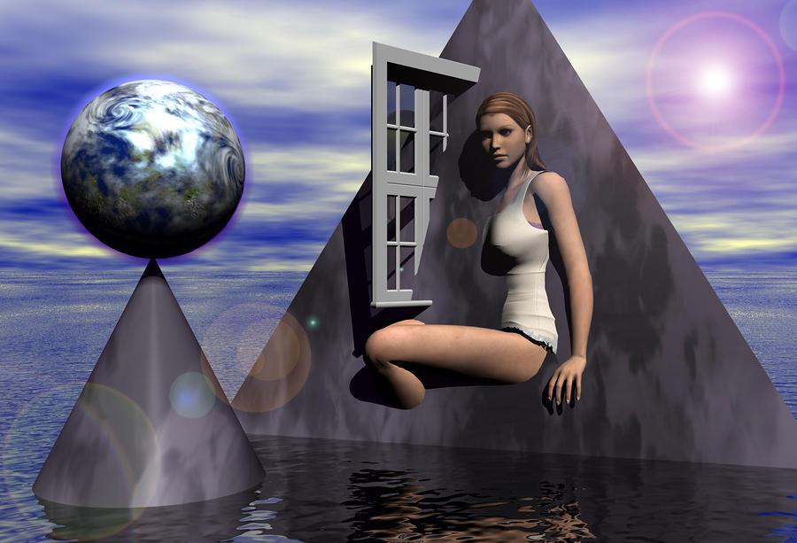The Heroine Of The Trinity Digital Art
