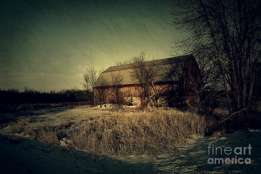 The Hiding Barn Photograph  - The Hiding Barn Fine Art Print