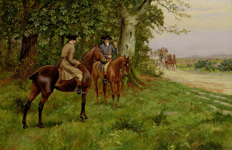 The Highwaymen Painting  - The Highwaymen Fine Art Print