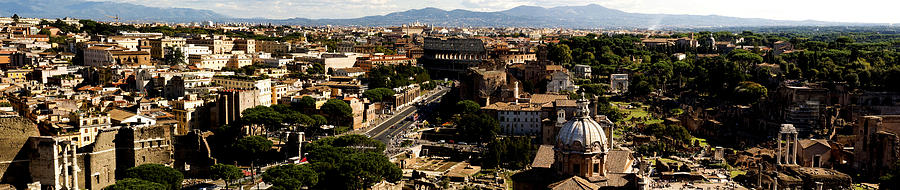 The Historic Centre Of Rome Photograph  - The Historic Centre Of Rome Fine Art Print