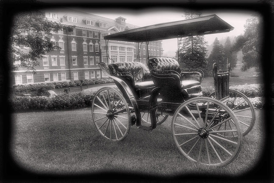 Buggy Photograph - The Homestead Carriage I by Steven Ainsworth