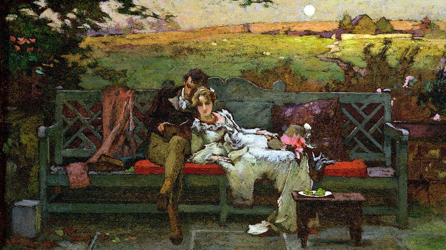 The Honeymoon Painting