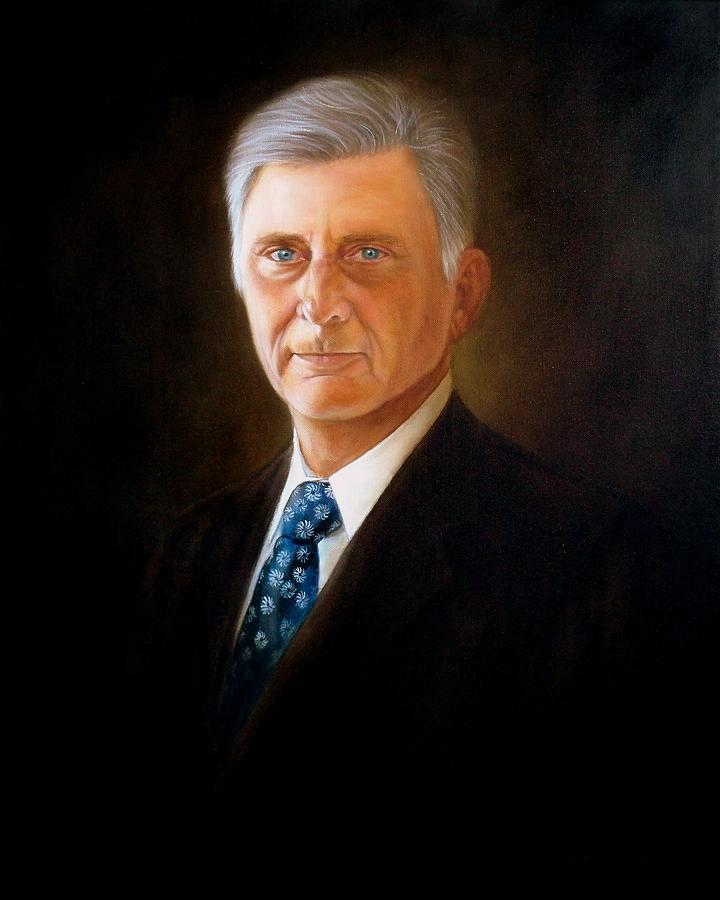 The Honorable Mike Beebe Governor State Of Arkansas Painting  - The Honorable Mike Beebe Governor State Of Arkansas Fine Art Print