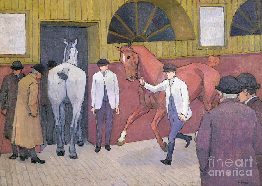 The Horse Mart  Photograph