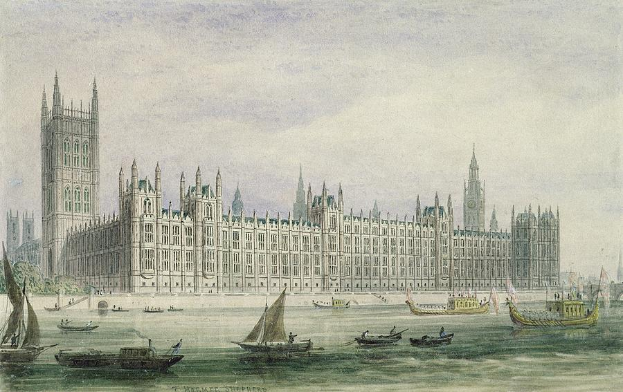 The Houses Of Parliament Photograph