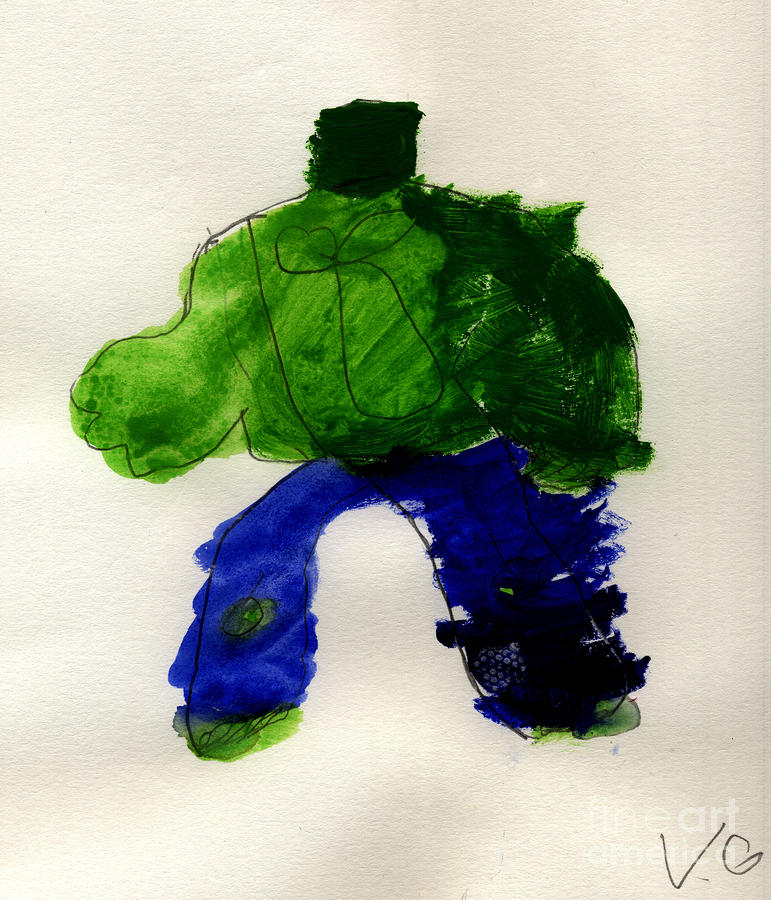 The Hulk Painting