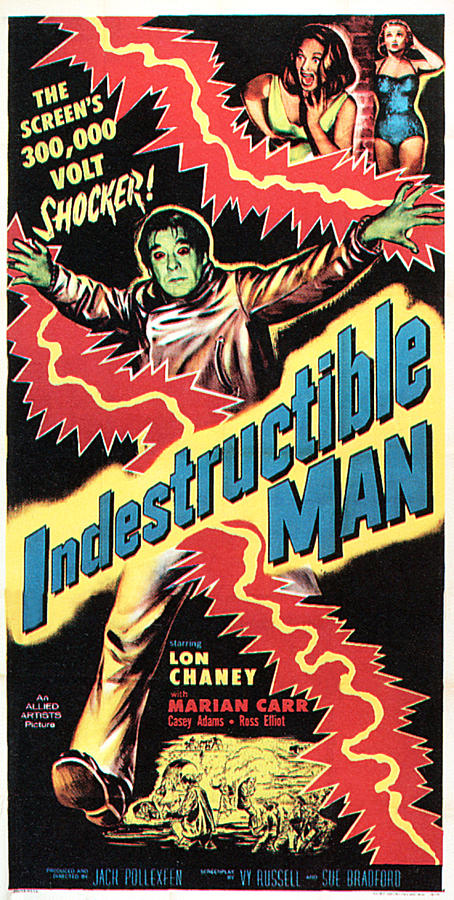 The Indestructible Man, Lon Chaney Jr Photograph  - The Indestructible Man, Lon Chaney Jr Fine Art Print