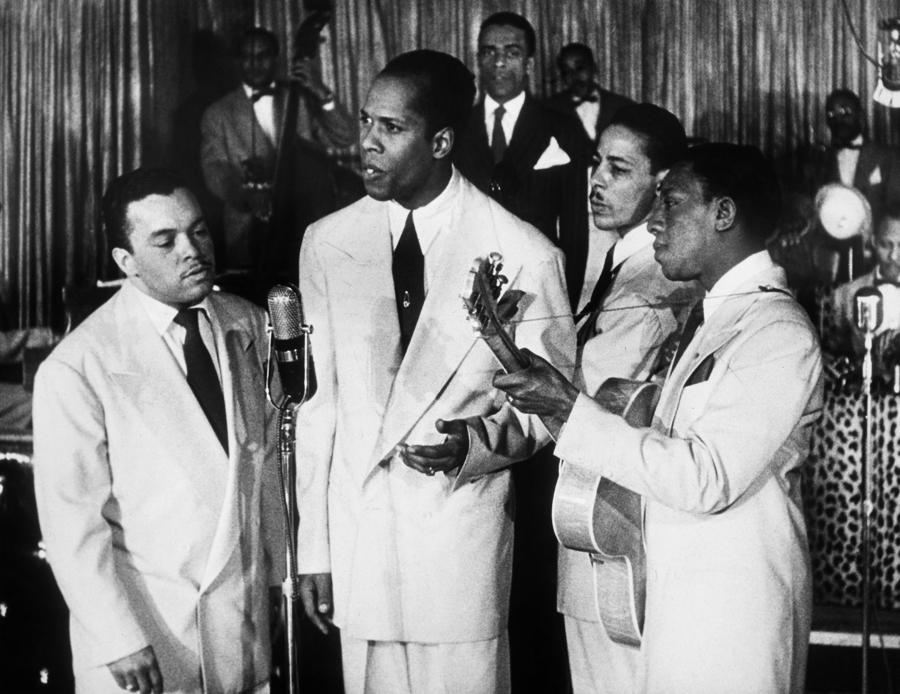 The Ink Spots, C1945 Photograph  - The Ink Spots, C1945 Fine Art Print