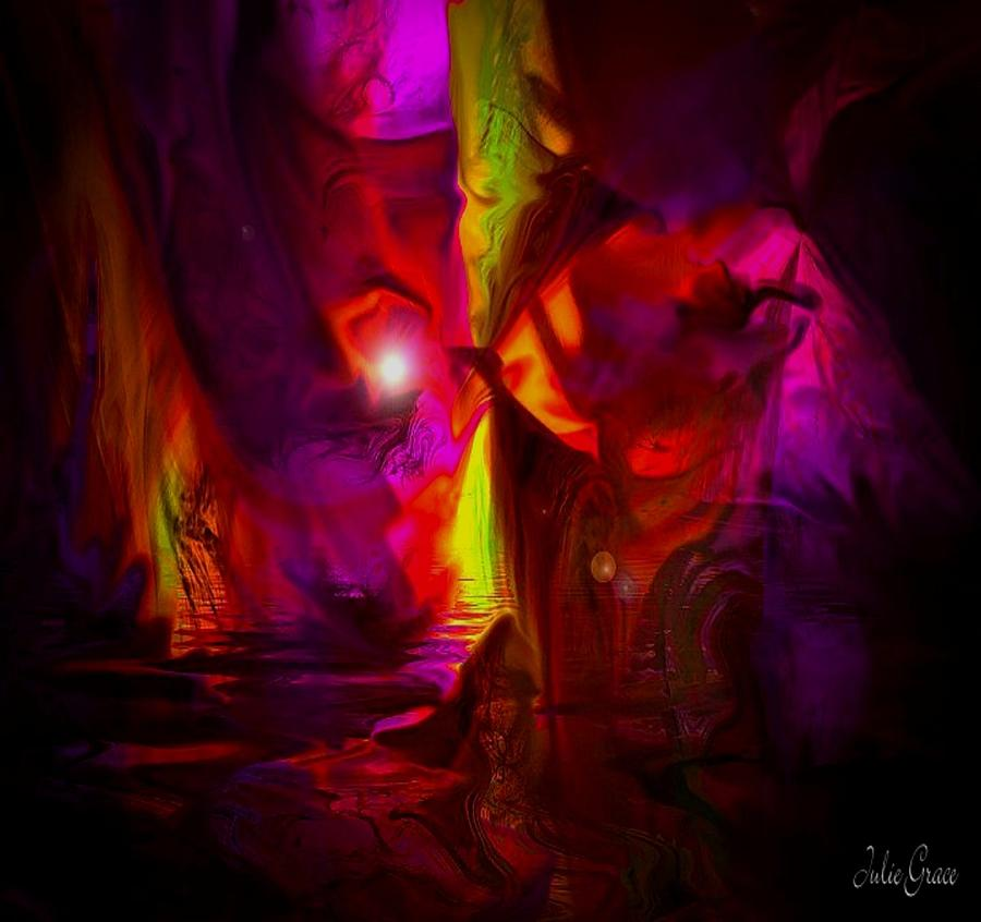 The Inner Glow Digital Art  - The Inner Glow Fine Art Print