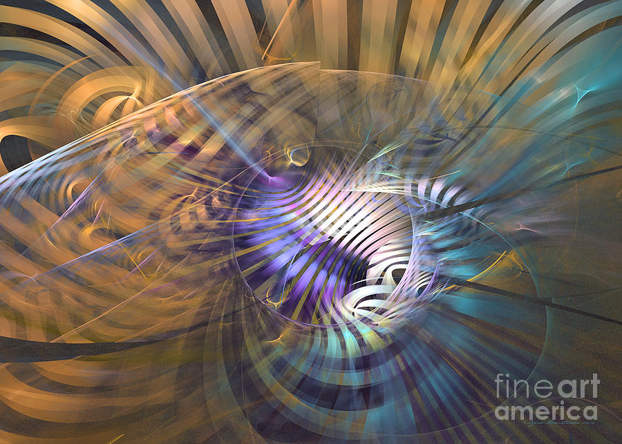 The Internal Melody Digital Art  - The Internal Melody Fine Art Print