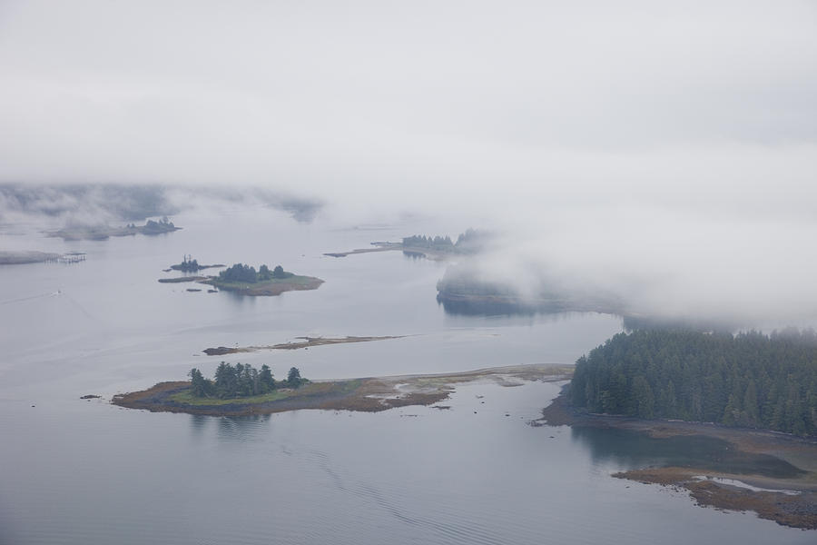 The Islands Of The Inside Passage Photograph