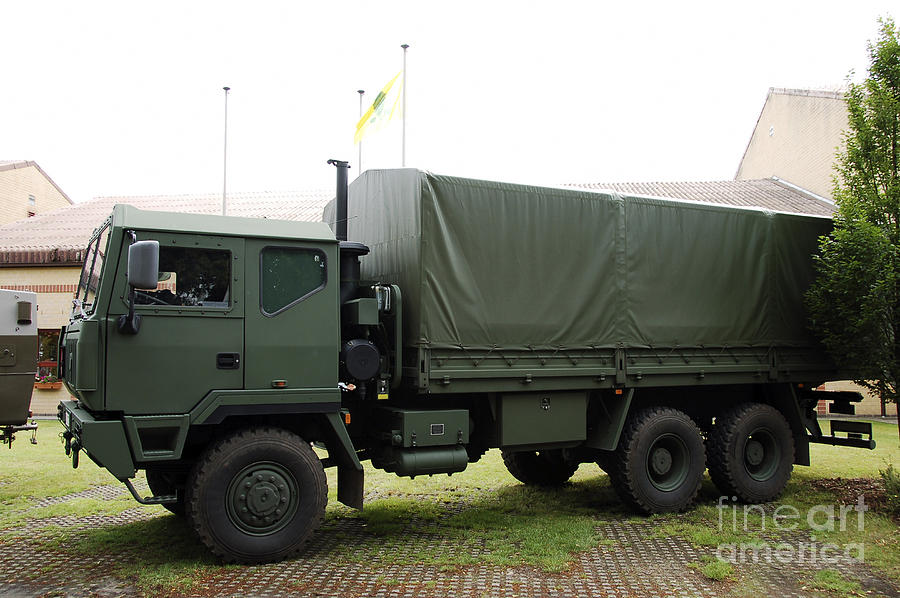 The Iveco M250 8 Ton Truck Used Photograph