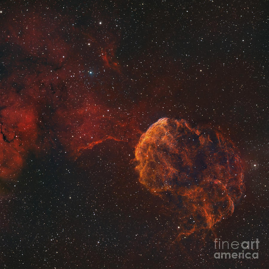 The Jellyfish Nebula Photograph