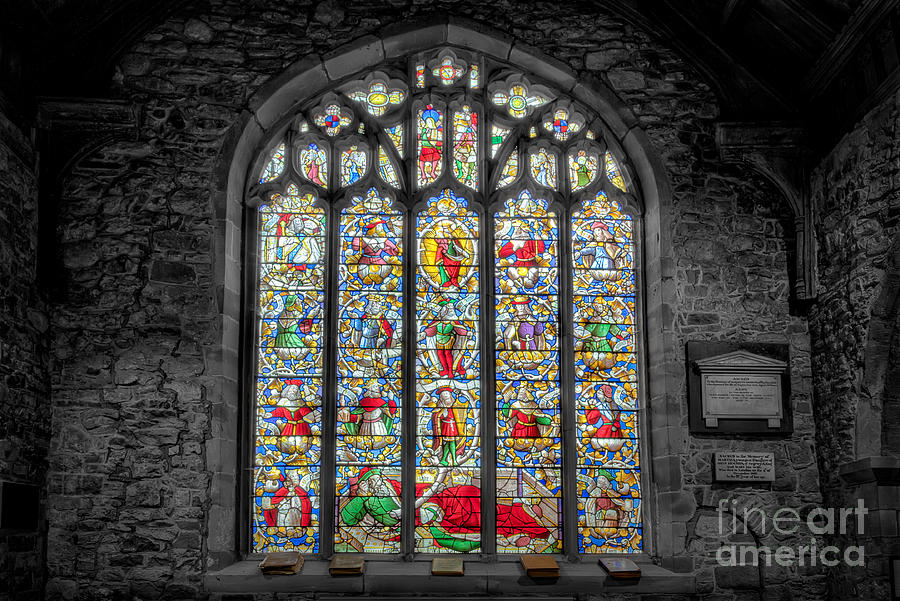 The Jesse Window  Photograph  - The Jesse Window  Fine Art Print
