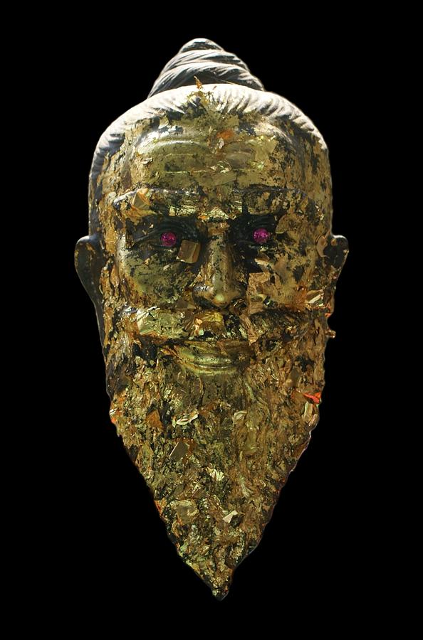 Buddhist Sculpture - The Jewel Eyed Hermit by Gregory Smith