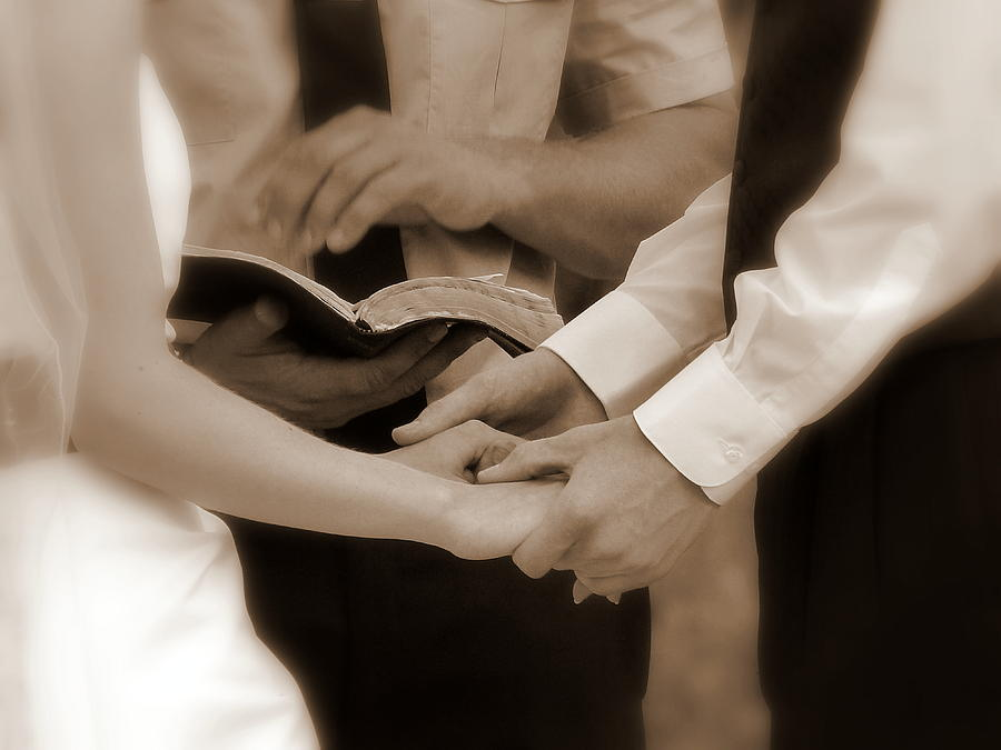 The Joining Of Hands Photograph  - The Joining Of Hands Fine Art Print