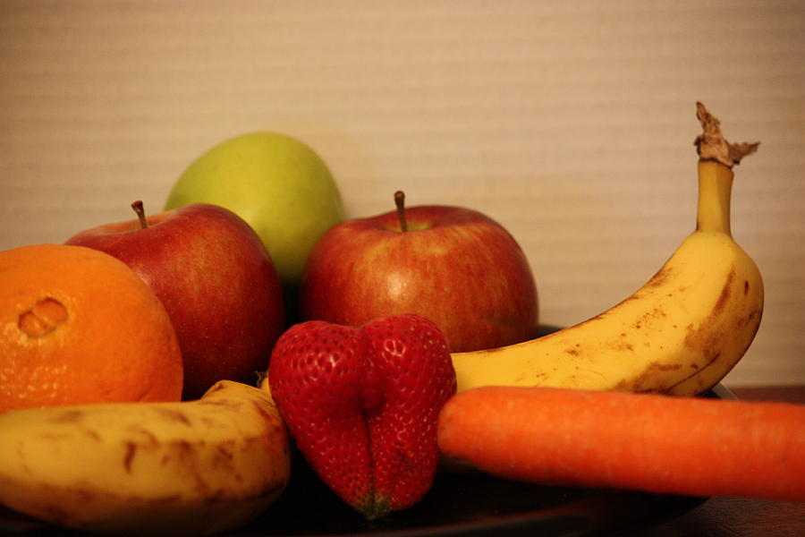 The Joy Of Fruit At Supper Photograph