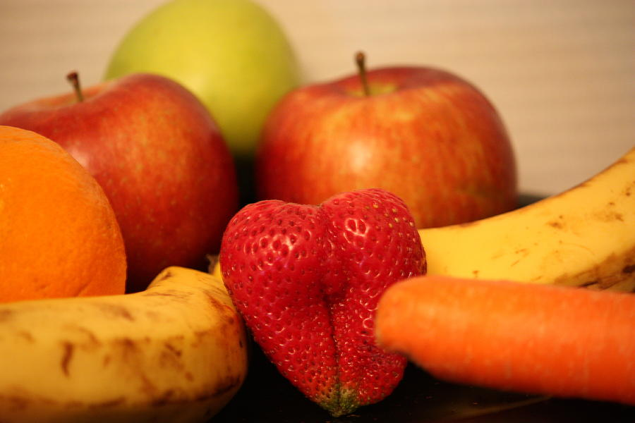 The Joy Of Fruit In The Morning Photograph