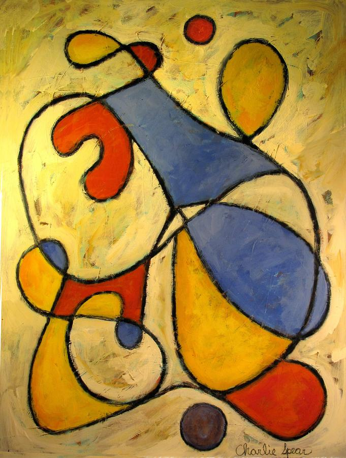 The Juggler Painting