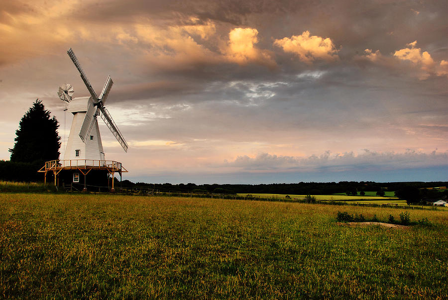 The Kentish Smock Mill Photograph  - The Kentish Smock Mill Fine Art Print