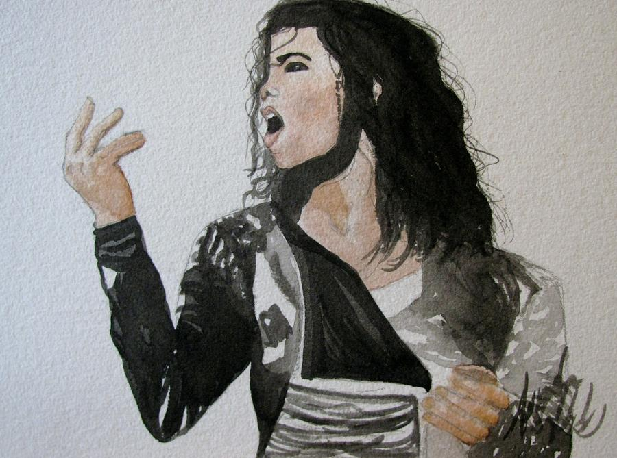 The King Of Pop Painting
