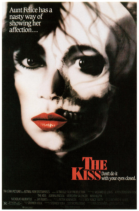 The Kiss Joanna Pacula 1988 Photograph The Kiss Joanna PaculaTekken Movie Christie Kiss