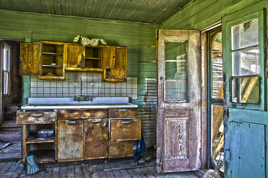 The Kitchen Sink Photograph  - The Kitchen Sink Fine Art Print
