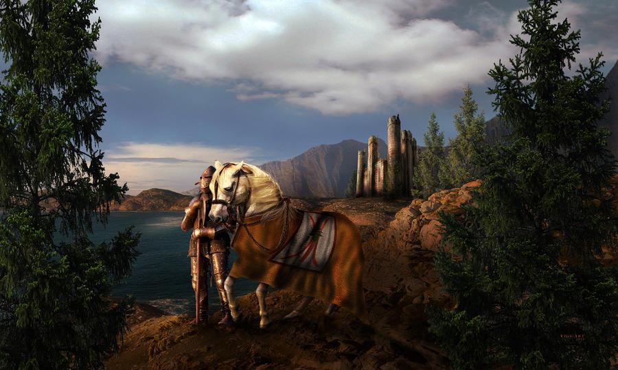 The Knight Of The Kingdom Digital Art