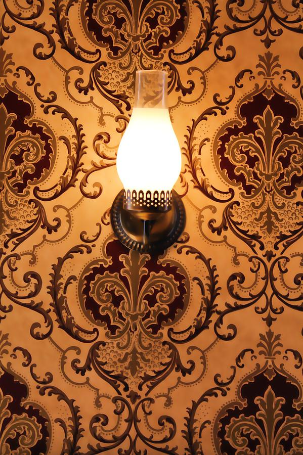 The Lamp On The Wall Digital Art  - The Lamp On The Wall Fine Art Print