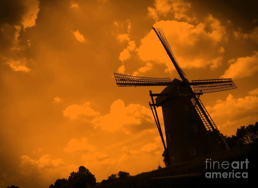 The Land Of Orange Photograph