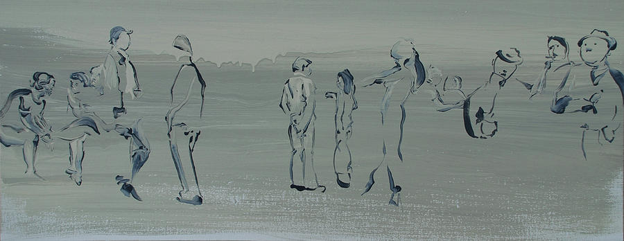 The Language Of Long Lingering Looks Painting