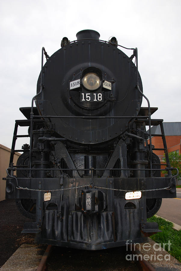 The Last Iron Horse Loc 1518 In Paducah Ky Photograph  - The Last Iron Horse Loc 1518 In Paducah Ky Fine Art Print