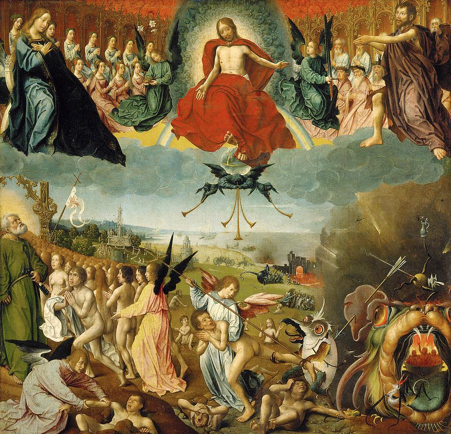 The Last Judgement Painting