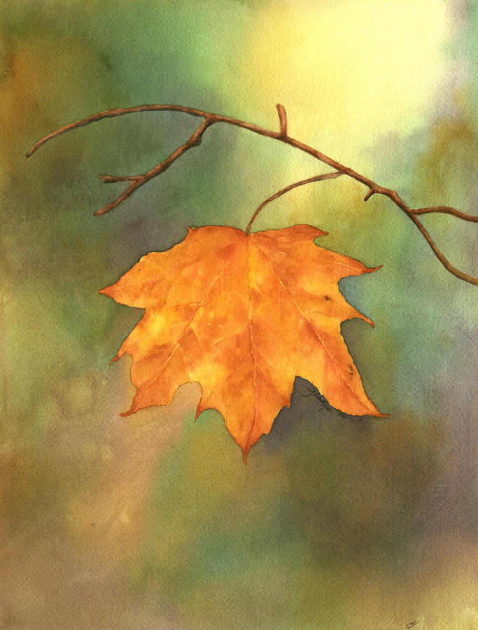 The Last Leaf by Gladys Folkers