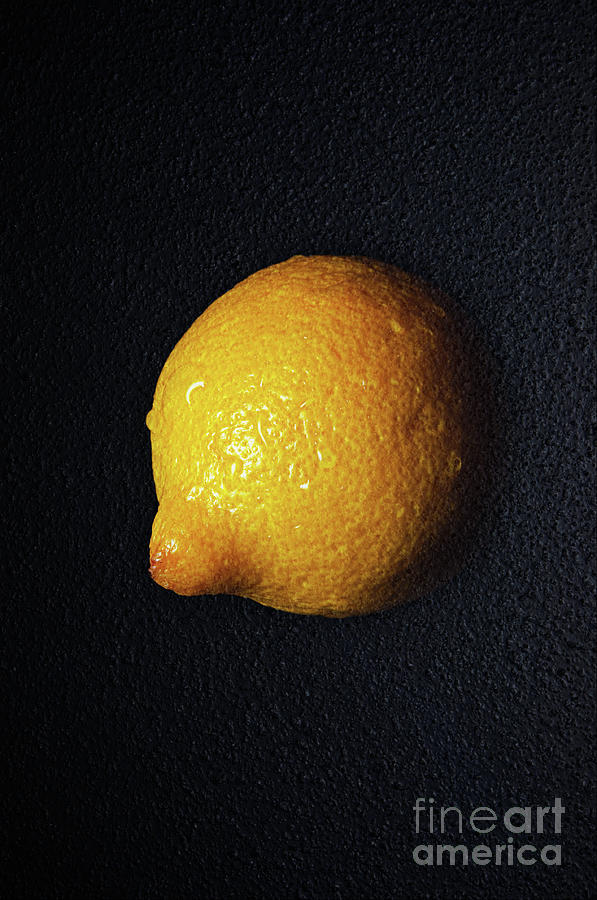 The Lazy Lemon Photograph
