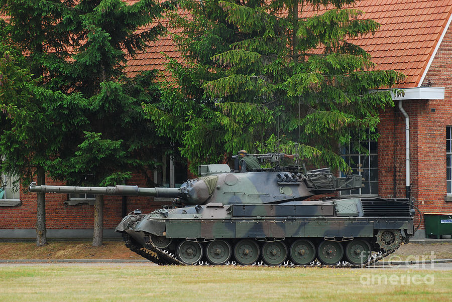 The Leopard 1a5 Main Battle Tank In Use Photograph