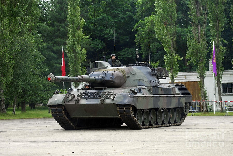 The Leopard 1a5 Mbt Of The Belgian Army Photograph  - The Leopard 1a5 Mbt Of The Belgian Army Fine Art Print