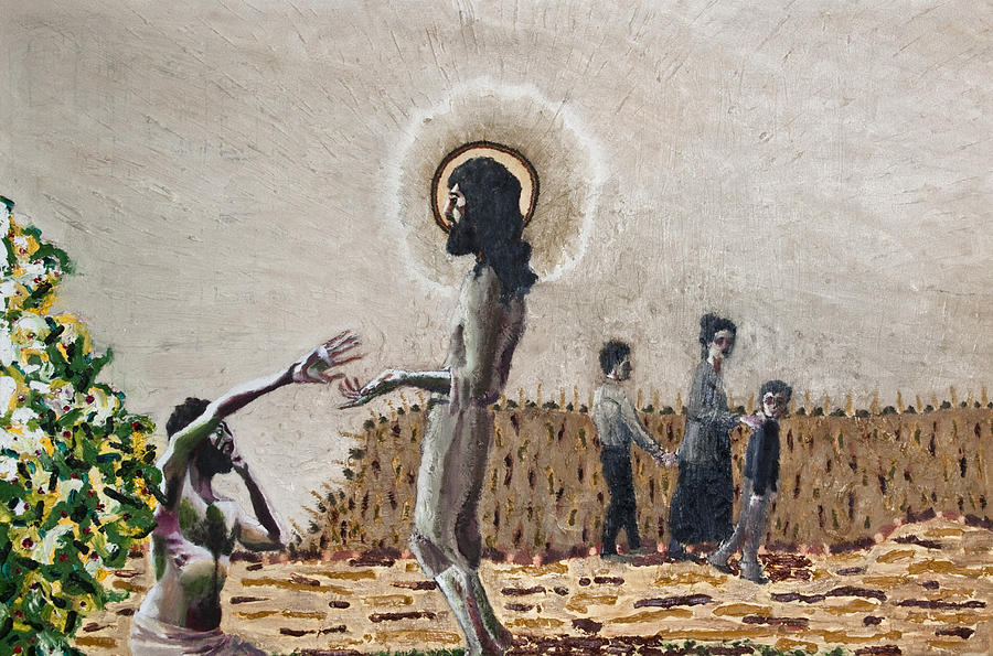 The Lepers Painting