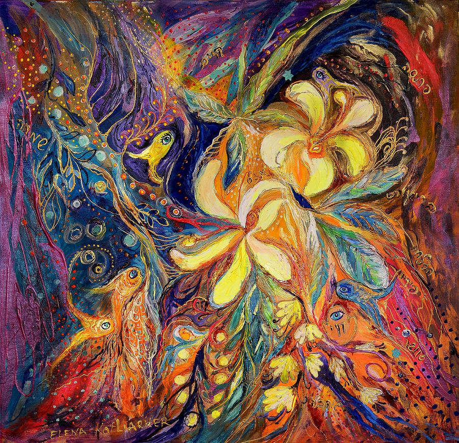 The Lilies Of Galilee Painting  - The Lilies Of Galilee Fine Art Print