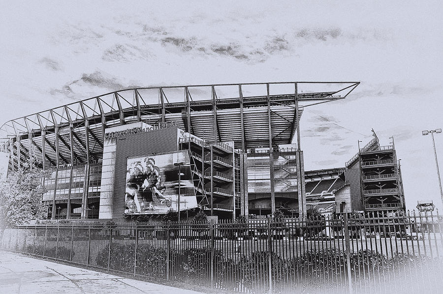The Linc - Philadelphia Eagles Photograph