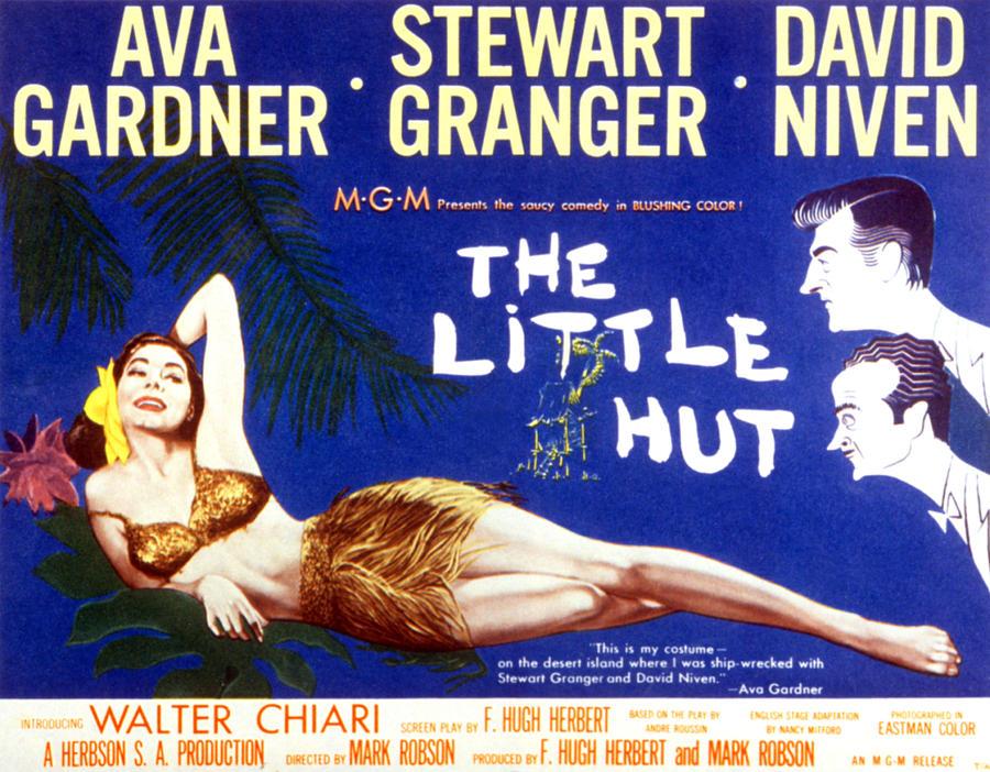 The Little Hut, Ava Gardner, Stewart Photograph